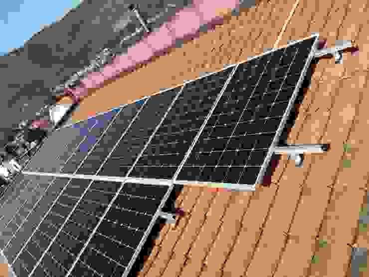 Impianto fotovoltaico con batteria d'accumulo Serel Energia s.r.l.