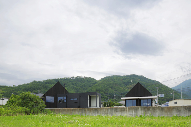 Rumah Modern Oleh キューボデザイン建築計画設計事務所 Modern