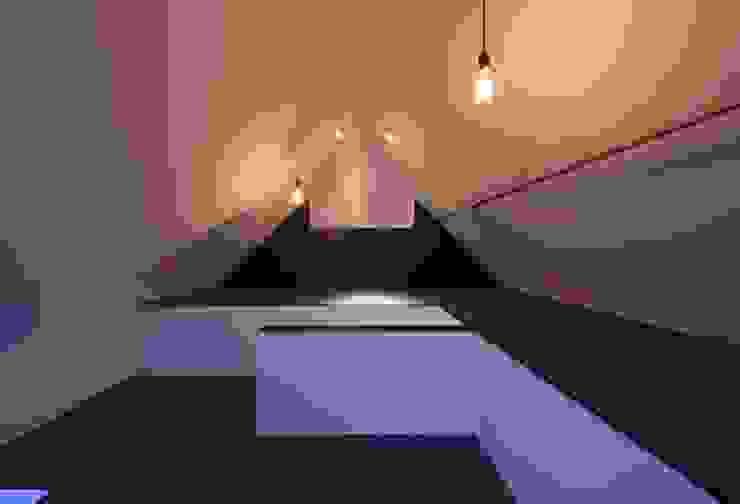 Kamar Tidur Modern Oleh キューボデザイン建築計画設計事務所 Modern