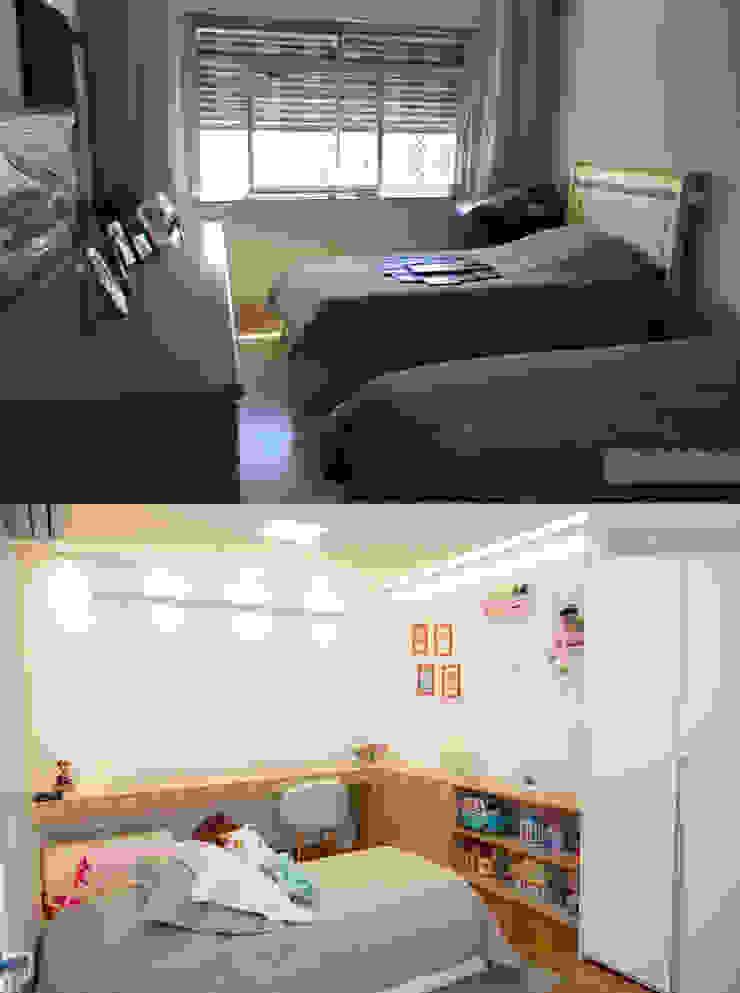 Dormitório de menina por C2HA Arquitetos Moderno