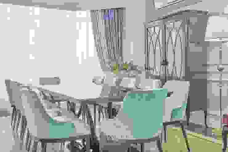Столовая зона Столовая комната в эклектичном стиле от Студия Luxury Antonovich Design Эклектичный