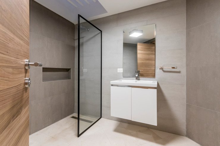 BAÑO Baños de estilo moderno de Design Group Latinamerica Moderno