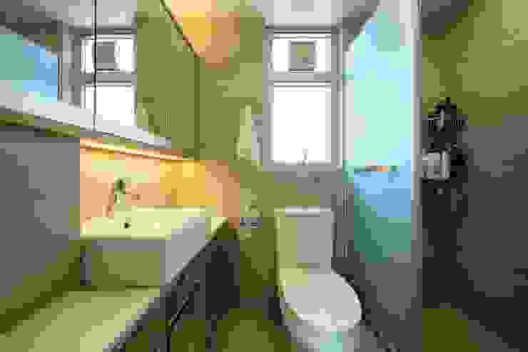 海桃灣浴室 Modern bathroom by Inspire Design Ltd Modern Ceramic