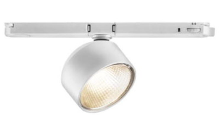 Foco LED de carril modelo DROB. Iluminación interior. de OutSide Tech Light Moderno