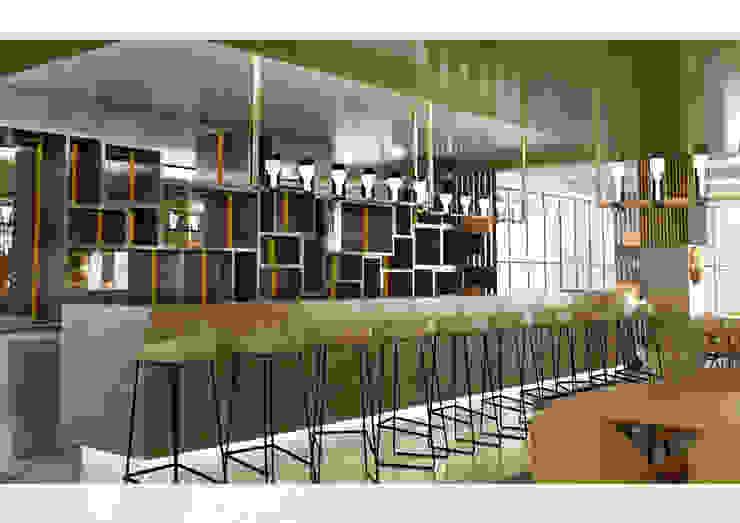 de Kut İç Mimarlık Mediterráneo Derivados de madera Transparente