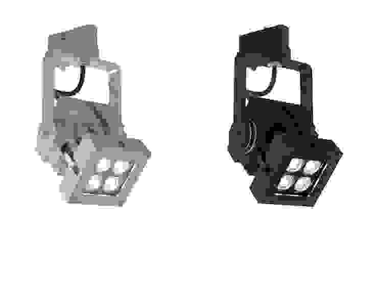 Proyector LED de carril REVO COmpact. Iluminación interior. de OutSide Tech Light Moderno