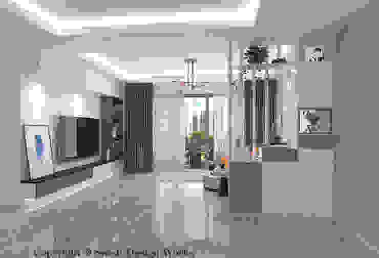 Living room Modern living room by Swish Design Works Modern Plywood
