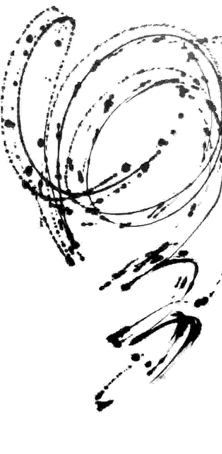 Licht/hell - Kalligraphie auf Leinwand Christine Lehmann Malerei-Wandbilder-Asiatische Kalligraphie Kunst Bilder & Gemälde