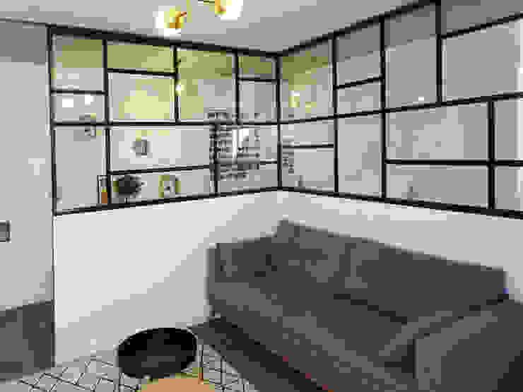 68m2 – Saint Ouen Sandrine Carré Salon moderne