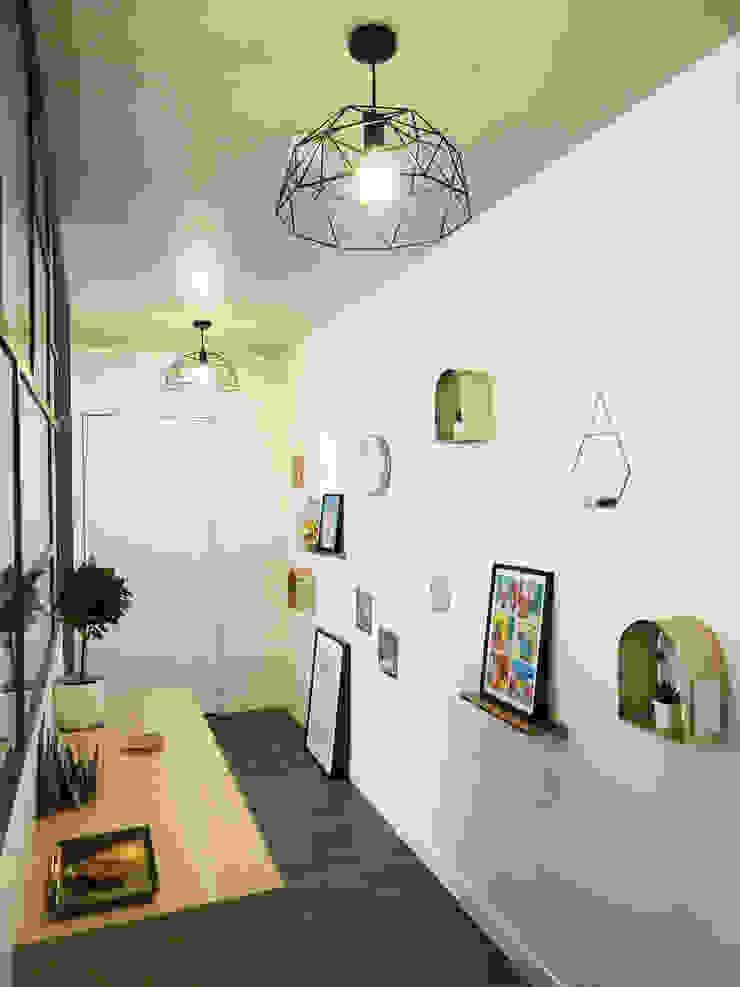 الممر الحديث، المدخل و الدرج من Sandrine Carré حداثي