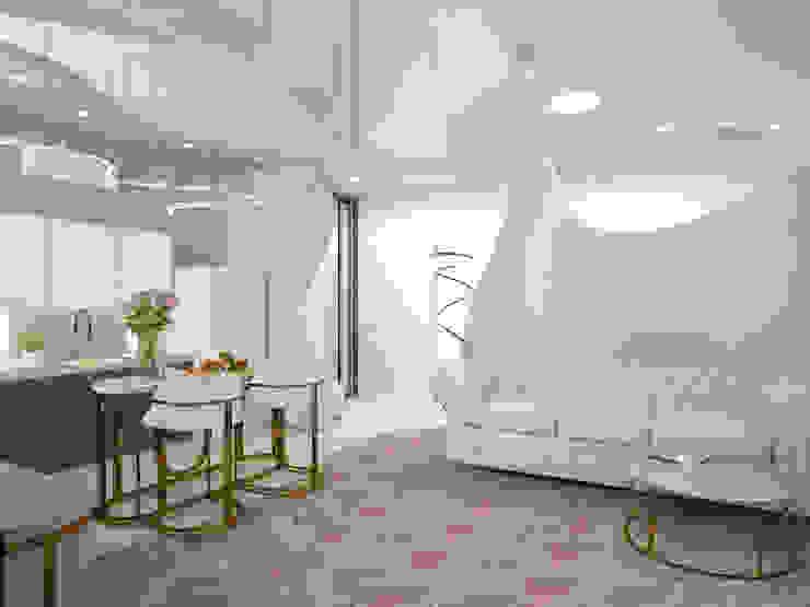 Modern Living Room by DESIGN&STYLE Modern