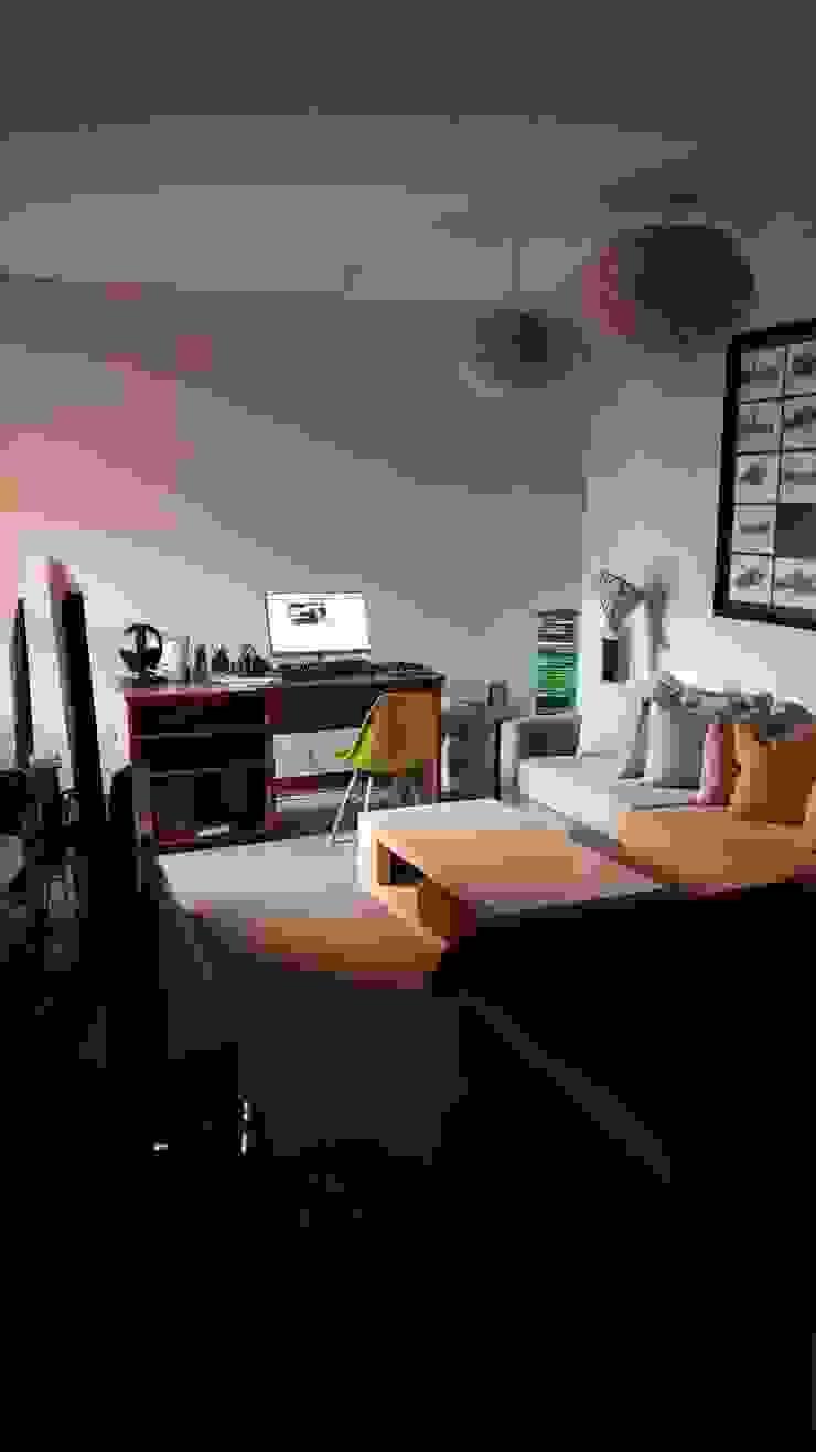 Antes Sala de Estar de Azohia Design - Diseño y Decoracion Maria Alejandra Bucher EIRL Moderno