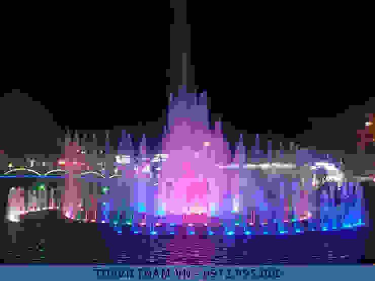 Đài phun nước thị xã Phổ Yên - Thái Nguyên bởi Công ty Đài phun nước TDV Việt Nam Hiện đại