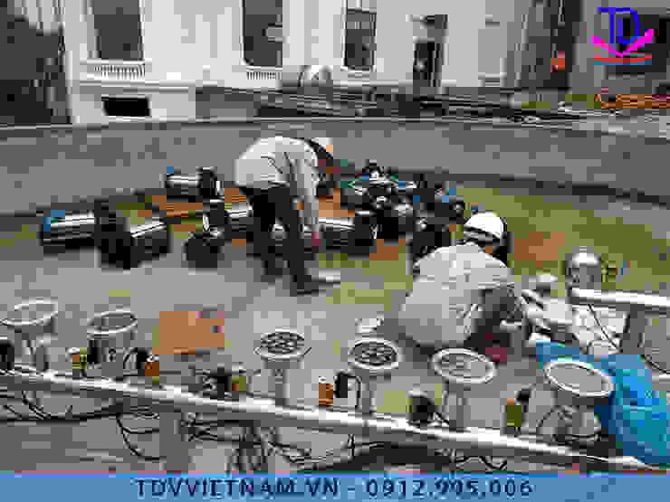 Nhạc nước nghệ thuật bởi Công ty Đài phun nước TDV Việt Nam Hiện đại