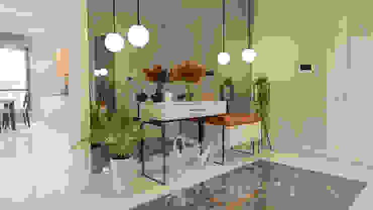 Moderner Flur, Diele & Treppenhaus von ARTERA İÇ MİMARLIK VE MİMARLIK Modern