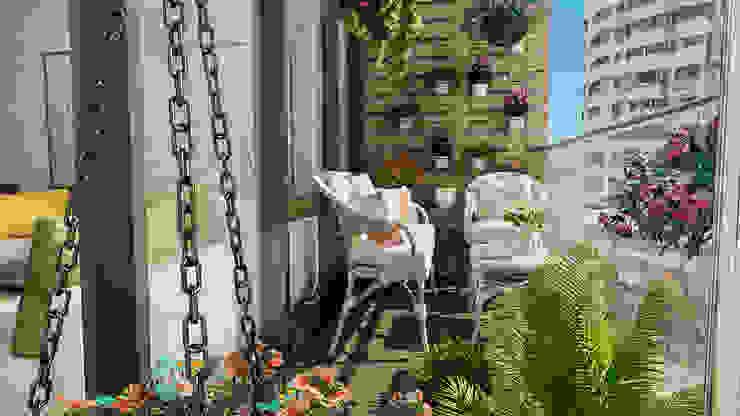 ARTERA İÇ MİMARLIK VE MİMARLIK Balcony