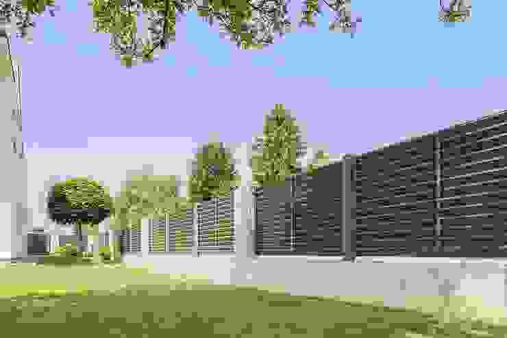 Super-Zaun Front yard Aluminium/Zinc