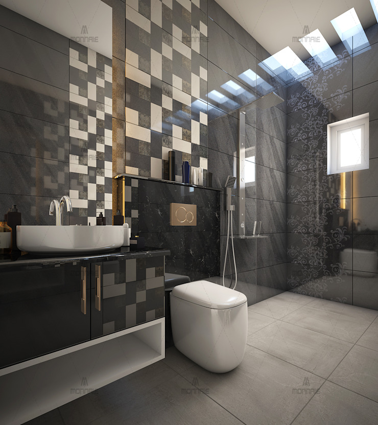 Awesome Contemporary Bathroom Designs...: classic  by Monnaie Interiors Pvt Ltd,Classic