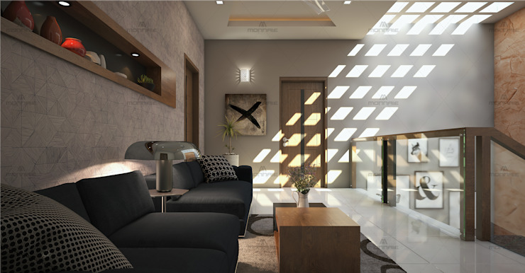 Modern Living Room Design From Talented Architects...: classic  by Monnaie Interiors Pvt Ltd,Classic