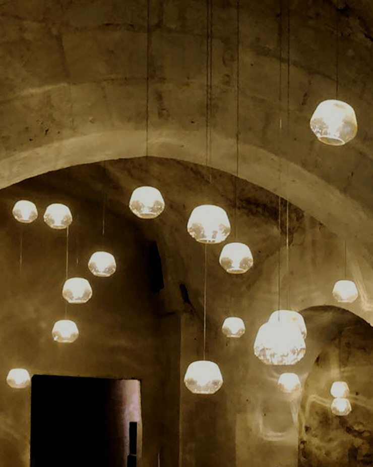 GARLIC arquitectos ワインセラー ガラス