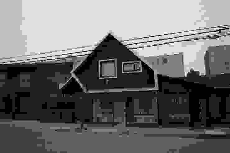 Casa ov de corner Minimalista