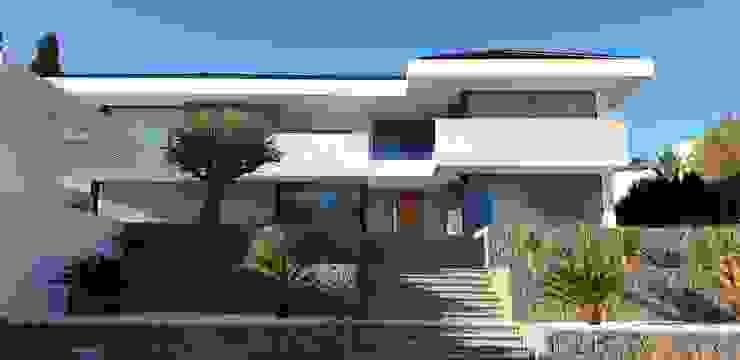 por GARLIC arquitectos Mediterrâneo Concreto