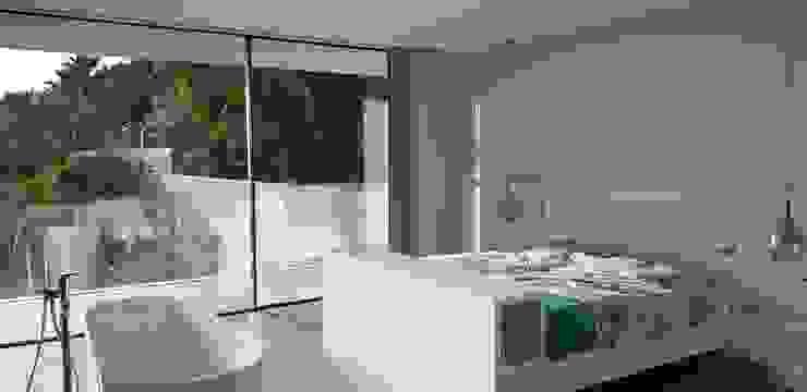 GARLIC arquitectos Mediterranean style bedroom