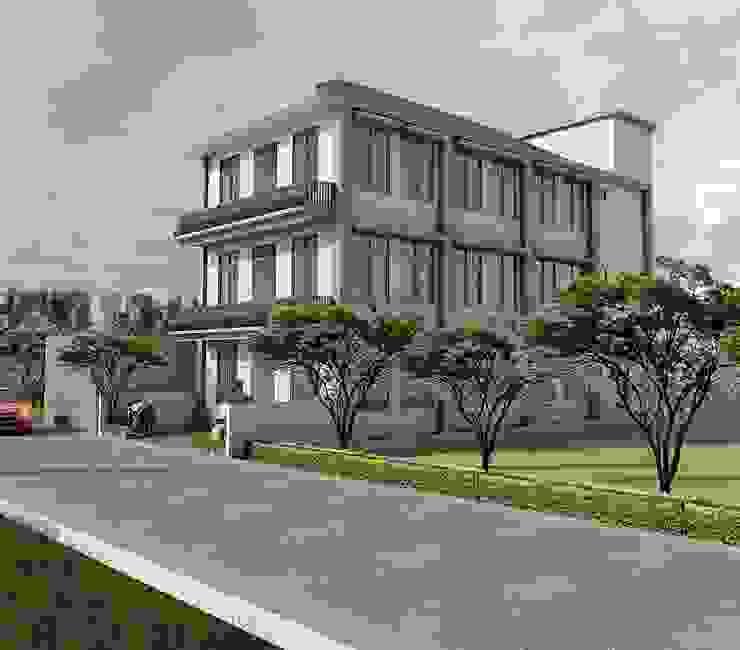 Rumah Santri, Karanganyar Oleh Radhika Karsa Studio