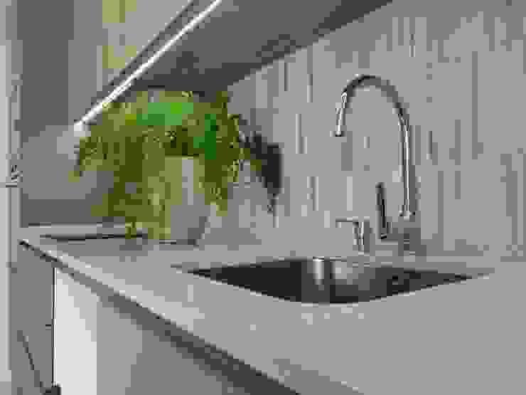 C evolutio Lda Kitchen Wood Grey