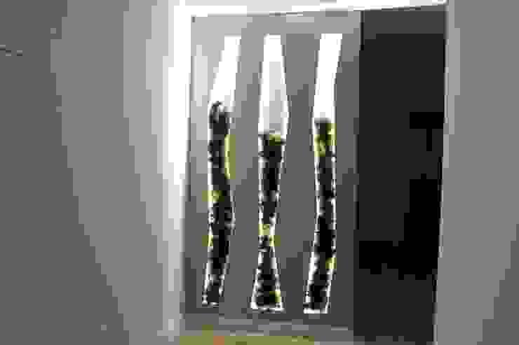 C evolutio Lda Modern Corridor, Hallway and Staircase Beige