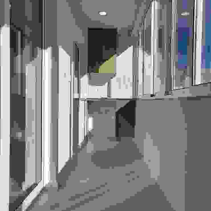 C evolutio Lda Balcony White