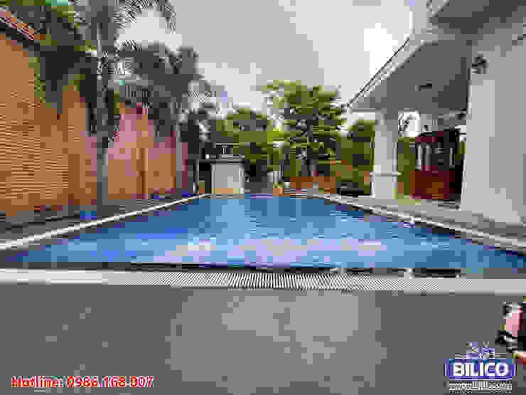 Thiết bị bể bơi Bilico Piscine asiatique