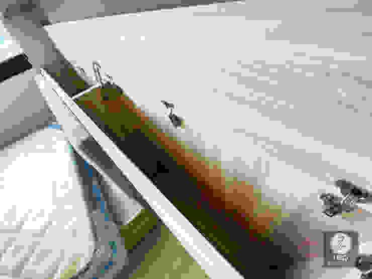 全室案例-新北市中和區 根據 ISQ 質の木系統家具 簡約風