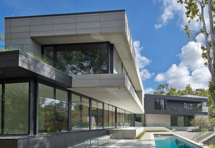 Bleyzer House by DH and Design 모던 석회암