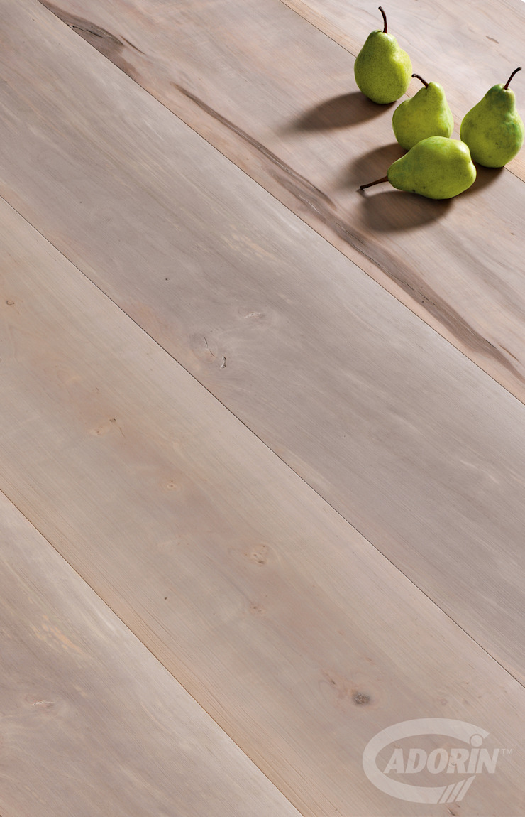 Spaccato Pear, Brushed, Bark varnished от Cadorin Group Srl - Top Quality Wood Flooring Модерн