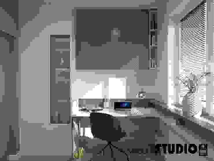 MIKOŁAJSKAstudio Ruang Studi/Kantor Modern