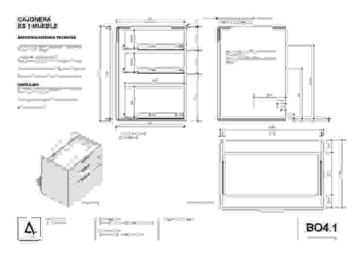 minimalist  by a4estudiospa, Minimalist Chipboard