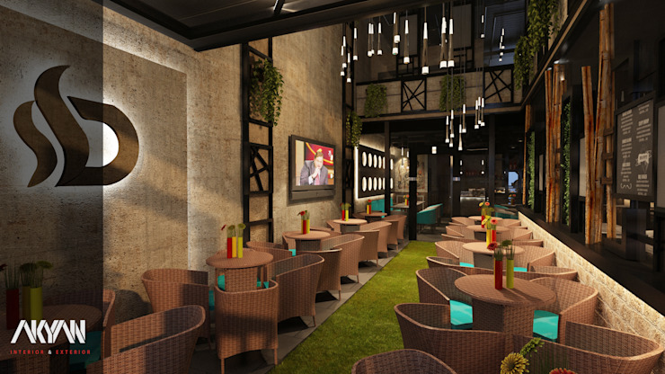 INDOOR BY OUTDOOR CLIMATE من AKYAN SQUARE صناعي حجر
