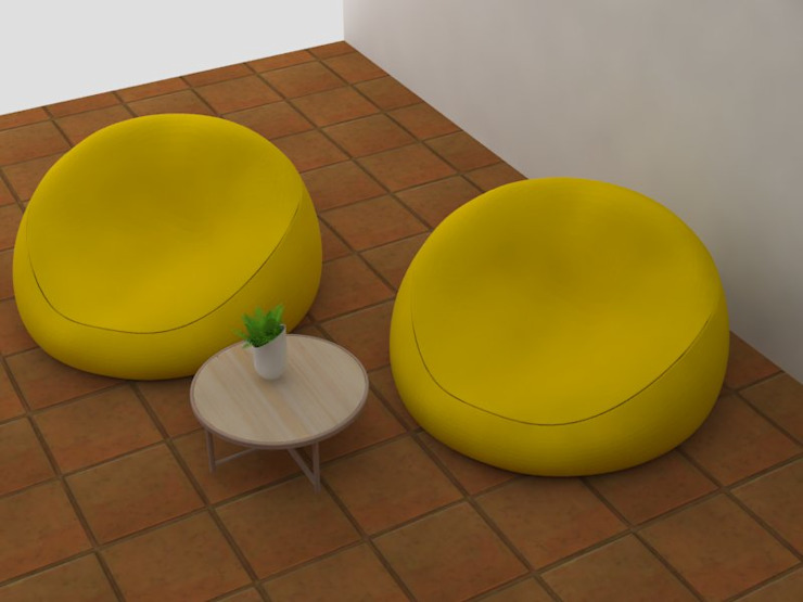 Zona de estudio Aranjuez Estudios y despachos de estilo industrial de Decó ambientes a la medida Industrial