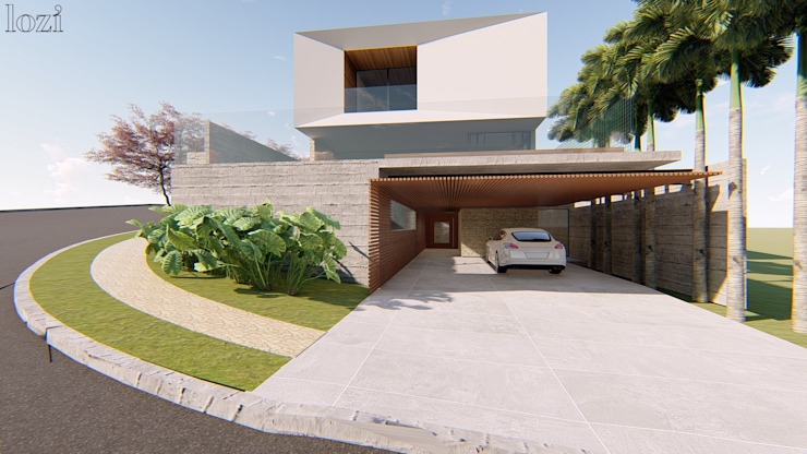 Moderne huizen van Lozí - Projeto e Obra Modern