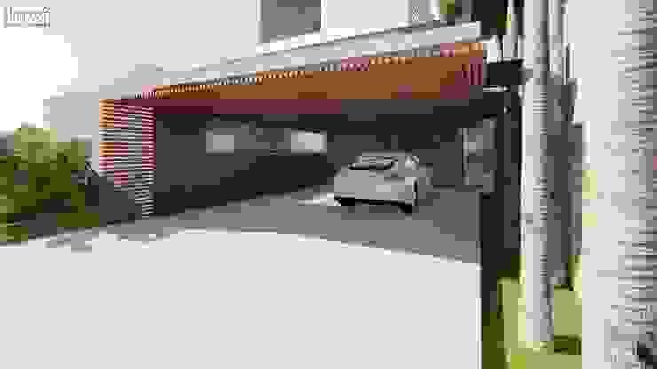 Moderne garage van Lozí - Projeto e Obra Modern
