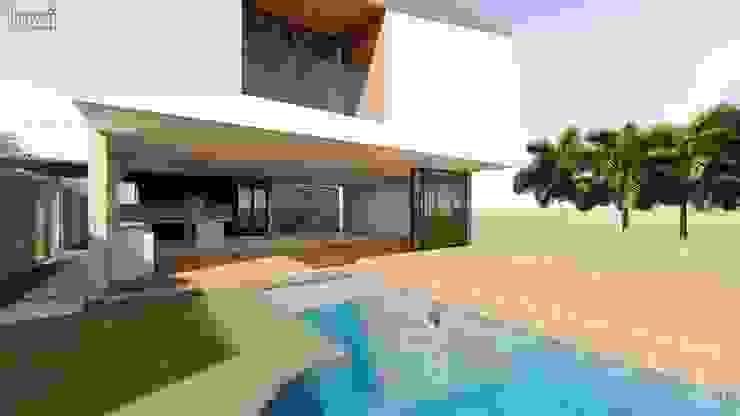 Moderne woonkamers van Lozí - Projeto e Obra Modern