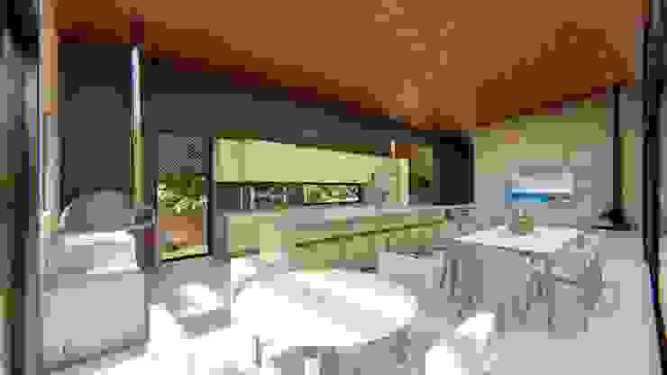 Lozí - Projeto e Obra Cocinas de estilo moderno
