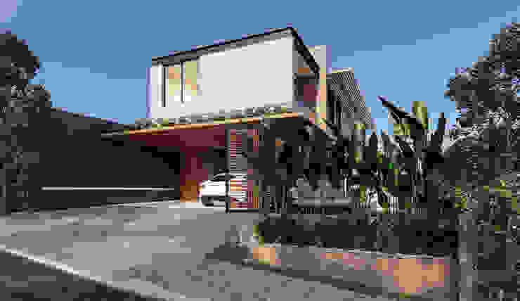 Lozí - Projeto e Obra Casas de estilo industrial
