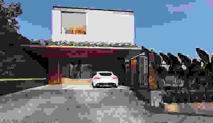 Lozí - Projeto e Obra Maisons industrielles