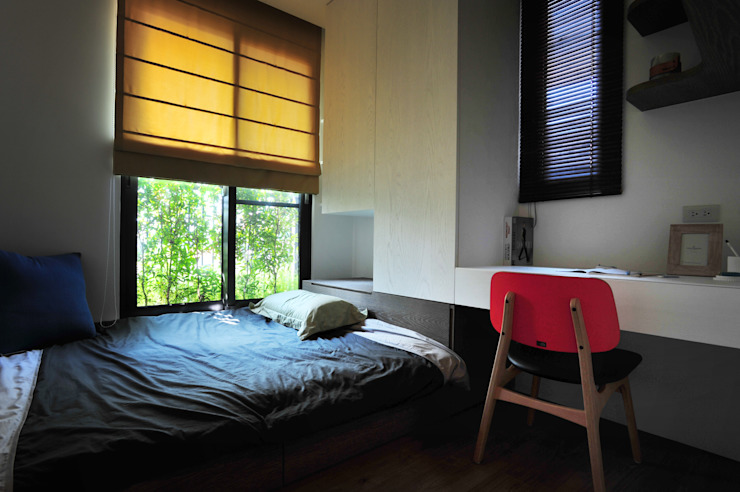 黃耀德建築師事務所 Adermark Design Studio Minimalist bedroom