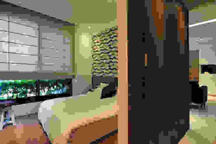 黃耀德建築師事務所 Adermark Design Studio Dormitorios de estilo minimalista