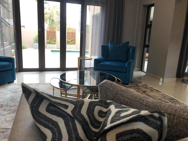Bedfordview Villa Modern living room by CKW Lifestyle Associates PTY Ltd Modern