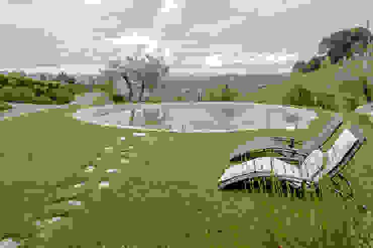 The View di Luca Bucciantini Architettura d' interni Minimalista Plastica