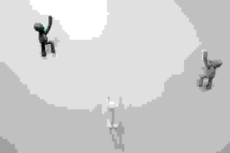 Luca Bucciantini Architettura d' interni Salle de bain minimaliste Béton Blanc